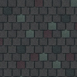 multi-color colonial roof shingles