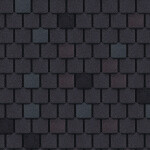 dark grey hearth roof shingles