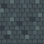 multi-colored gray roof shingles